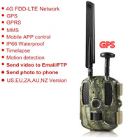 GPS 4G Hunting Camera MMS Digital Video Camera Trail Support FTP Email GPRS GSM Wild Camera Photo Traps 4G Night Vision Hunt CAM