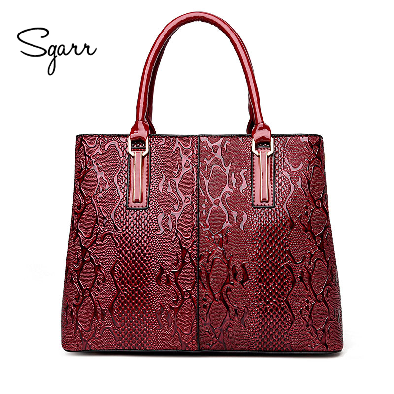 SGARR New Women PU Leather Bags Handbags Women Famous Brands Ladies Shoulder Crossbody Bag High Quality Casual Female Tote Bag famous brand new 2017 women clutch bags messenger bag pu leather crossbody bags for women s shoulder bag handbags free shipping