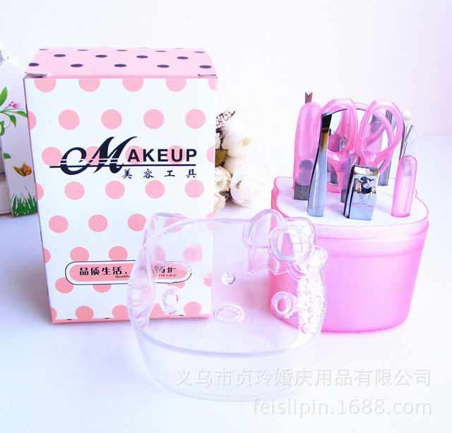 wedding bridal shower party favor gift giveaways for bridesmaid hello kitty manicure set baby