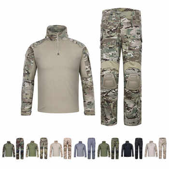 EmersonGear G3 Combat Unitform EmersonTactical BDU Camouflage Shirt & Pants for Military Airsoft Hunting Multicam