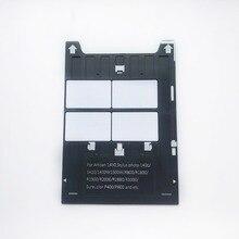 Bandeja de tarjeta de identificación de PVC para impresoras Epson Artisan 1430 Stylus Photo1400/1410/1430W/R800/R1800/R1900/P400 + 20 Uds.