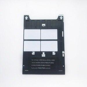 Image 1 - Inkjet PVC ID Card Tray for Epson Artisan 1430 Stylus Photo1400/1410/1430W/R800/R1800/R1900/P400 Printers+20pcs PVC Cards