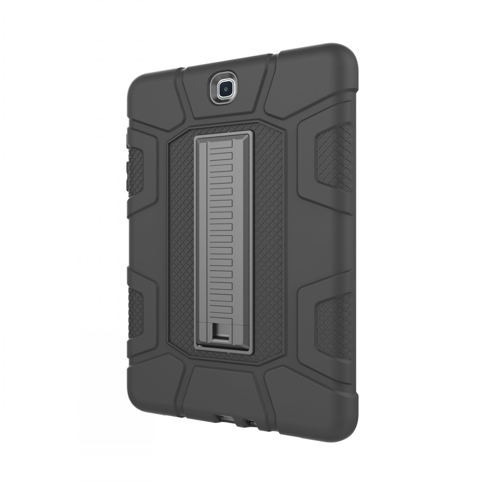 Case For Samsung Galaxy Tab A 9.7 T550 T555 Cover Case Tablet Resistant Hybrid Three Layer Heavy Duty Armor Full Body Protector