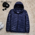 6XL 7XL 8XL Plus Men Ultralight Down Jacket With a Hood Outdoors Winter Parka With Carry Bag