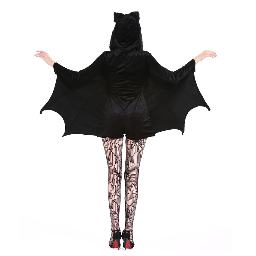 Horror Costumes Ghost Festival Women Batman Costumes Scary Halloween Costume for Women Nightclub Halloween Dress Fantasia