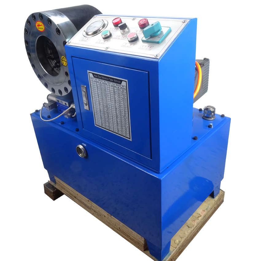 High quality BNT68 hydraulic hose crimping machine 1 4 quot to 2 quot 4SH SP 31 5Mpa system pressure rated 560T Max pressure ship by sea in Hydraulic Tools from Tools