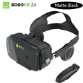 BOBO VR Z4 / Z4 Mini Matte Black Version Virtual Reality Glasses with Headphones Daydream View for iPhone Huawei Samsung Xiaomi