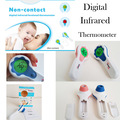 Non-contact LCD Digital Infrared Body Surface Forehead Thermometer Temperature Laser Gun Body Temp. and Milk Temp.