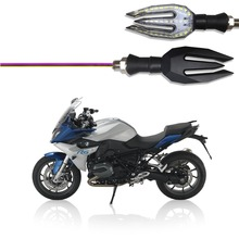 For BMW F650GS F750GS F800GT F800R F800S F850GS F800GS R1200GS K1200GT Rear Indicator Turn Signal LED Light Colorful Signal lamp