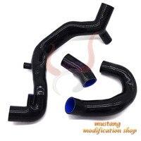 Бесплатная доставка автомобиля силиконовый шланг РАДИАТОР Fit Высокое Качество для Benz смарт 1000 451 1,0 т красный/синий/черный
