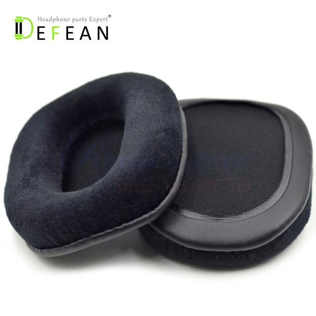 461b8577732 Defean Velour Replacement Cushion For Premium Hi-Fi DJ Style Over-the-Ear  Pro \ Monoprice MEP-839 108323 8323 headphones