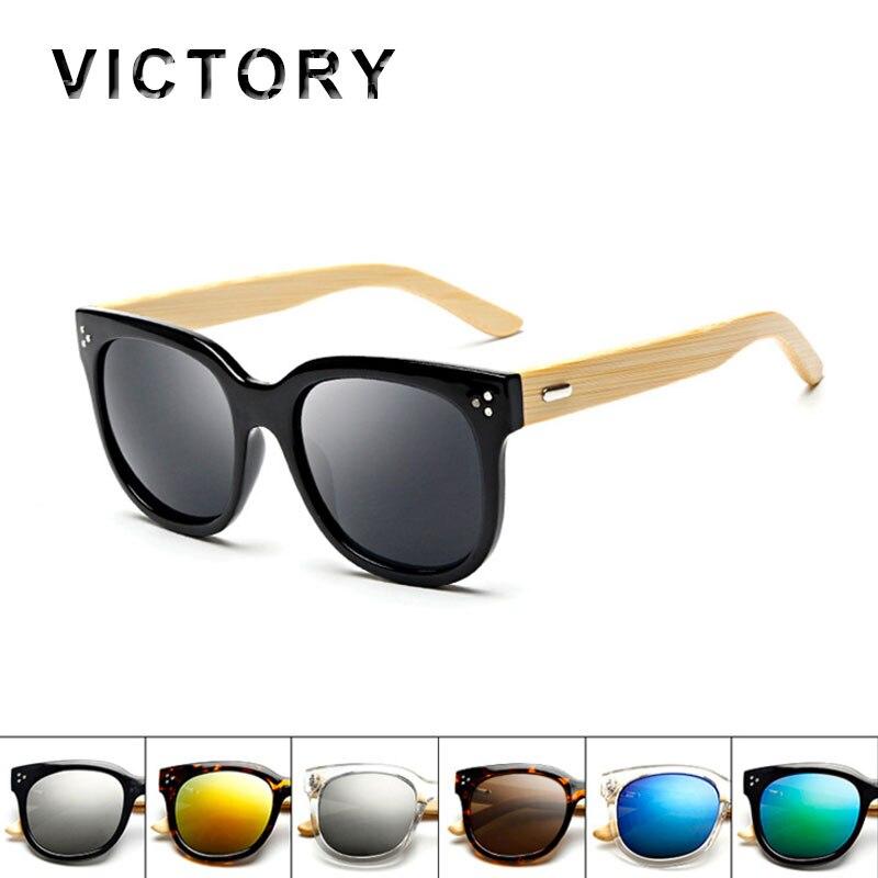 hot italy brand designer wood sunglasses women men big bamboo frame rivet cat eye sun glasses