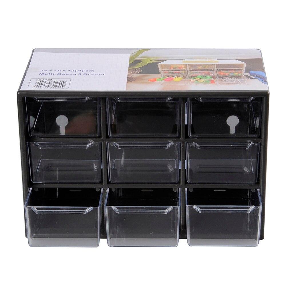 Plastic Portable Storage Cabinet Short : Plastic jewelry storage box mini debris cabinets lattice