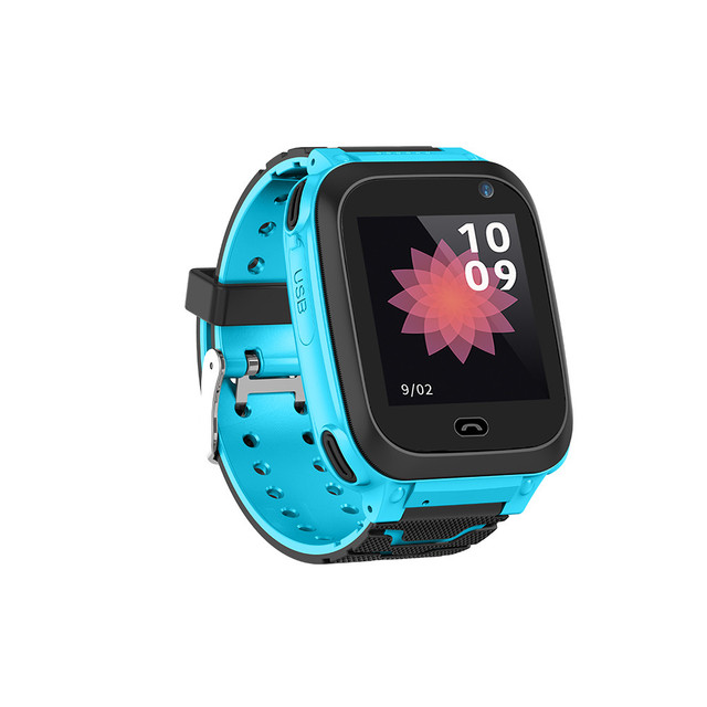 Kid Smart Watch GPS Tracker Phone with SIM kids safe SOS call Location devices A