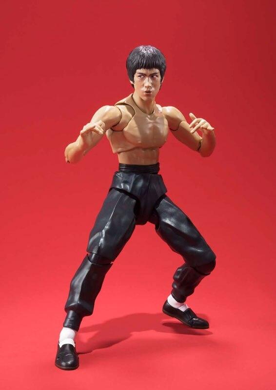100% Original BANDAI Tamashii Nations SHF/ S.H.Figuarts <font><b>Action</b></font> <font><b>Figure</b></font> - Bruce Lee
