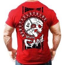 1812d65a Brand Mens muscle T shirt bodybuilding fitness men tops cotton singlets  Plus Big size TShirt Cotton