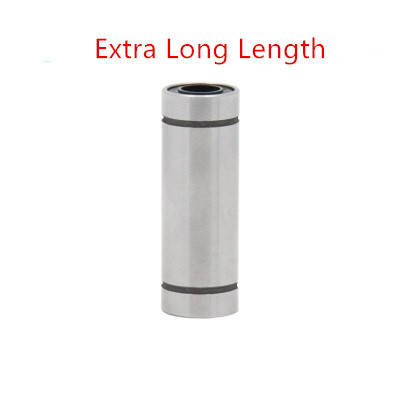LM60LUU 30x45x123mm Extra Long Length Linear Ball Bearing Bushing for 3D Printer Bearing Linear Ball Bearing Bushing lupulley linear bearing bushing lm50uu lm60uu for cnc machines 3d printer bearing steel