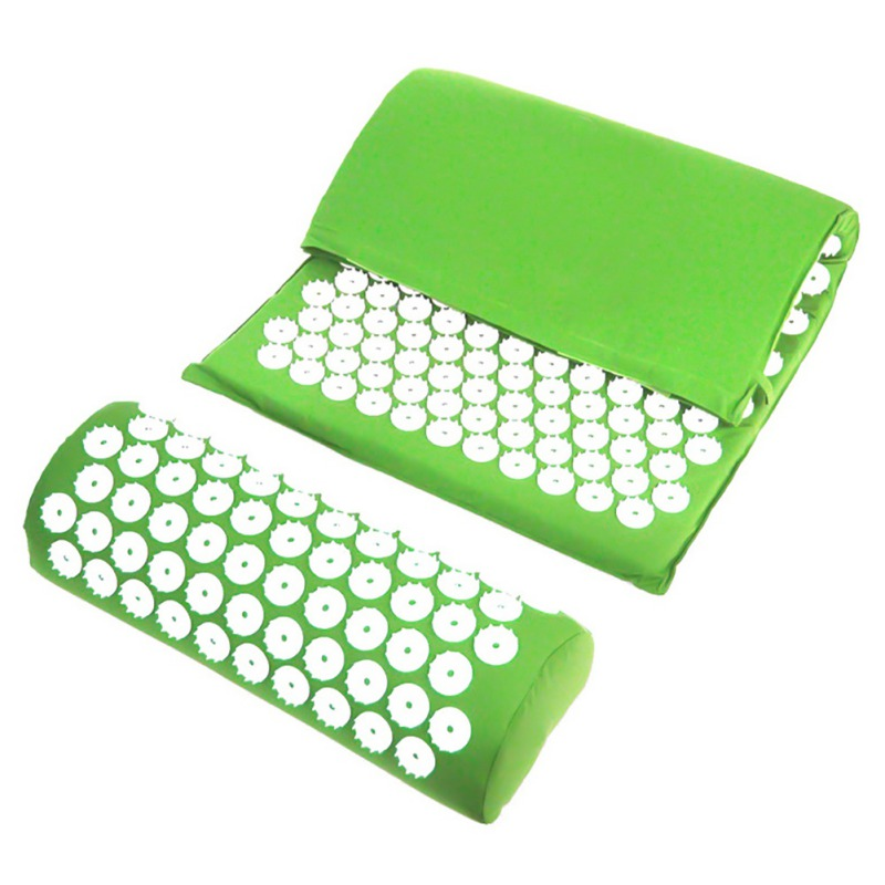 Acupressure massages mat which relieves stress and body pain including back neck and foot 15
