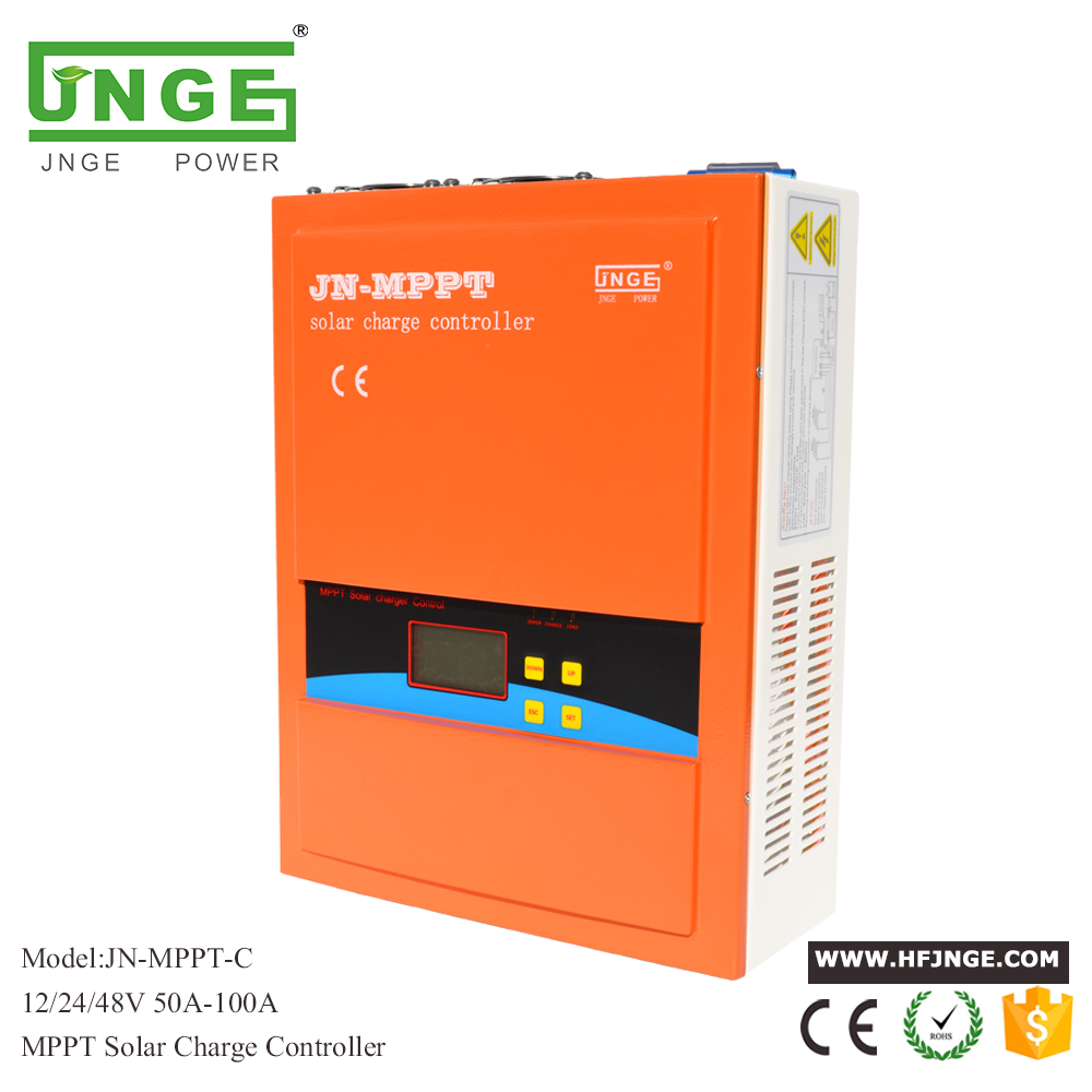 JNGE 60A Solar Controller MPPT Solar Charge Controller 12V 24V 48V MPPT Solar Panel Battery Regulator with Max. 150V PV input 60a 12v 24v 48v solar charge controller engineering premium quality com rs232 with pc page 1