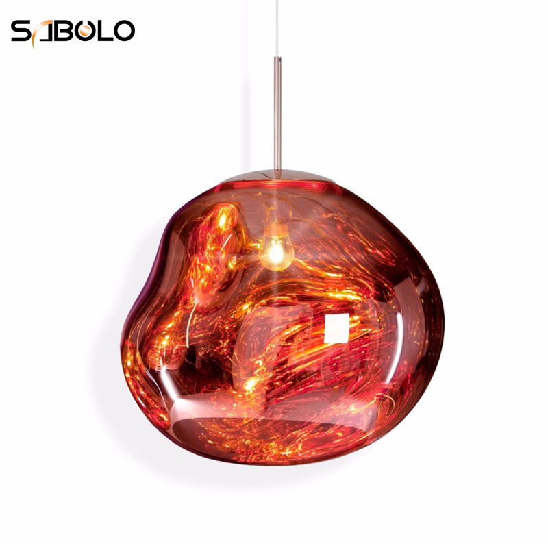 Modest Modern Tom Dixon Led Pendant Lights Glass Lava Lrregular Luminaire Hanging Lustre Pendant Lamp Living Room Deco Lighting Fixture Lights & Lighting