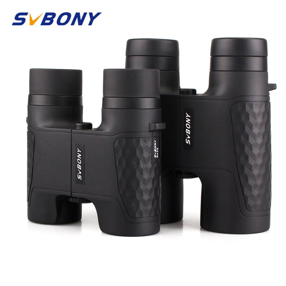 SVBONY 8x32 10x42mm Binoculars Fixed Focus Optics Waterproof Telescope Roof SV30 for Watching Games Hunting F9319