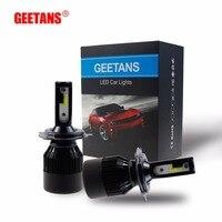 GEETANS Car Headlights H7 LED H4 H8 H11 HB3 9005 HB4 9006 H1 60W 6400lm Auto