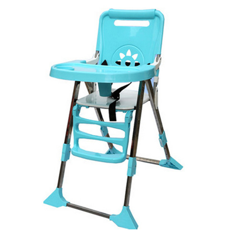 New Baby Dining Chair Chair Feeding Collapsible Children Dining Chair Multifunctional Baby Dinette Baby Portable Seating