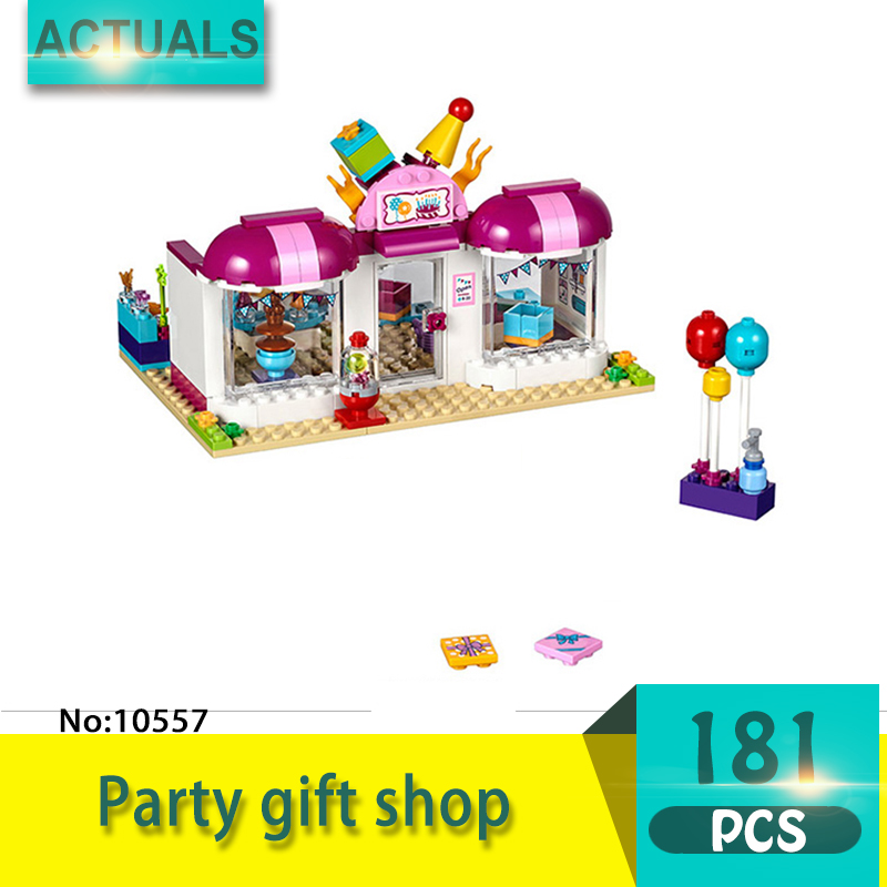 bela 10557 181Pcs Friends series Party gift shop Model Building Blocks Set  Bricks Toys For Children  Gift Girl toy цена 2017