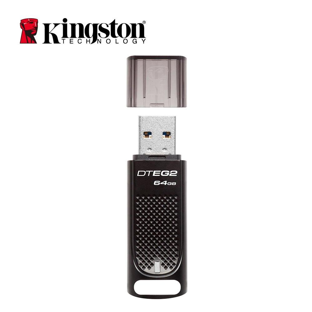 Kingston USB 64gb Pen Drive DTEG2 Cle Usb Flash Drive Metal Business Company Car usb key