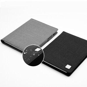 Image 2 - KACO ALIO 블랙 그레이 비즈니스 회의 선물 세트 A5 느슨한 나선형 노트북 개폐식 블랙 잉크 젤 펜 스토리지 패브릭 커버 세트