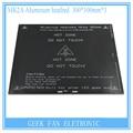 Para reprap 3d prusa & mendel mk2a printer 300*300*3.0mm aquecedor de cama rampas 1.4 placa de alumínio pcb heatbed pcb cama de calor