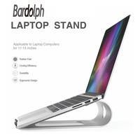 11 15 inches Portable Laptop Stand Aluminum Alloy NoteBooks Holder Stand for iPad Macbook Air / Pro Metal Bracket