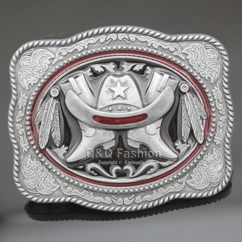 New Hot Men Metal Cowboy Western Fashion Belt Buckle Fashion Cool Jewelry