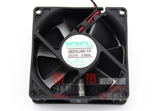 8025 24 V 0.060A A8025L24B-FH 8 CM ventilador de refrigeración del inversor