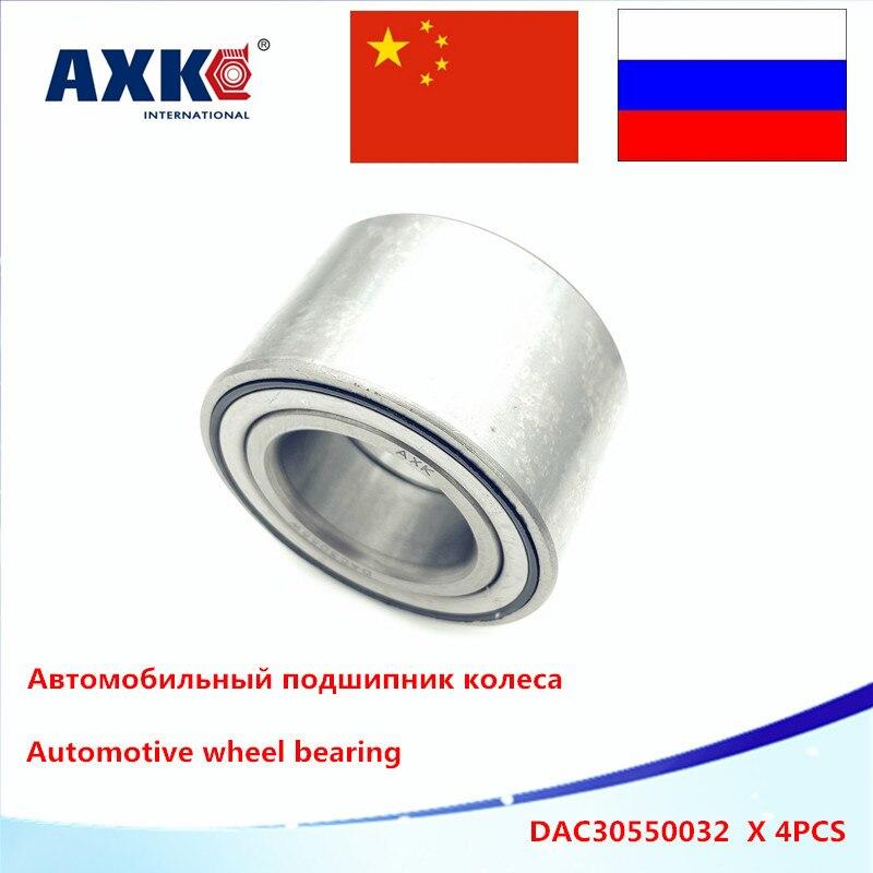 Hub Bearing Dac305532 Auto Spare Parts Steel 4pcs Dac3055w Dac30550032 30x55x32 Atv Utv Car Bearing Auto Wheel Hub