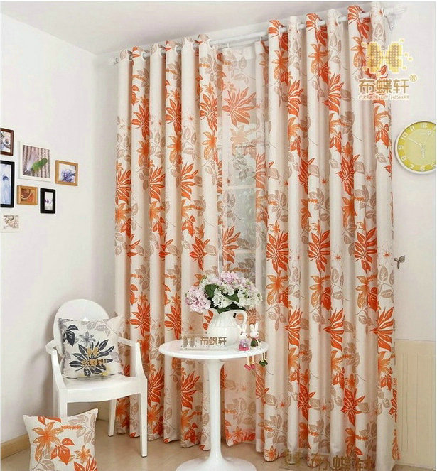 Wholesale Rustic Window Curtains For Living Room Bedroom Blackout Curtains Window Treatment
