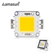 Светодиодный чип 12 В, 10 Вт, 30 В-36 в, 20 Вт, 30 Вт, 50 Вт, 100 Вт, интегрированный COB Светодиодный прожектор, сделай сам, прожектор, прожектор, теплый белый, холодный белый