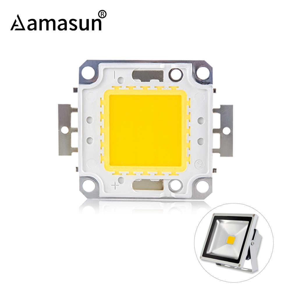 LED Chip 12V 10W 30V-36V 20W 30W 50W 100W Integrated COB LED Beads DIY Spot For Floodlight Searchlight Warm White Cold White