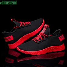 CHAMSGEND Flying Weaving Sneakers Running Shoes Men Outdoor Sneakers Hot Sell Br