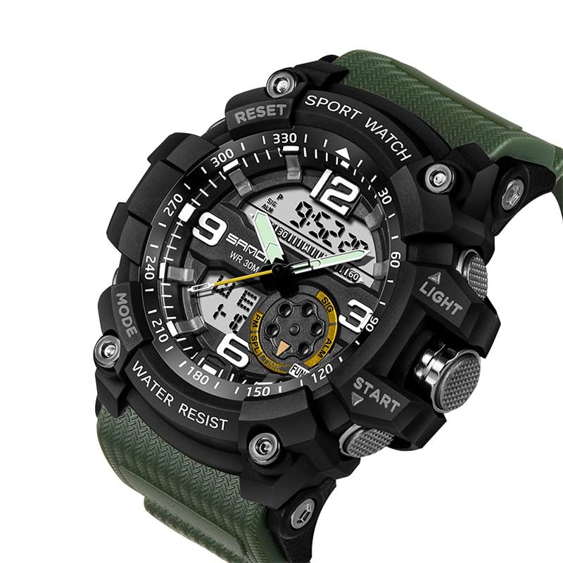 HTB1qK6zg8smBKNjSZFsq6yXSVXaD SANDA 759 Sports Men's Watches Top Brand Luxury Military Quartz Watch Men Waterproof S Shock Wristwatches relogio masculino 2019