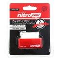 Новое поступление NitroOBD2 красный Чип тюнинг коробка для дизельных автомобилей нитрометр OBD2 производительности вилка и привод топливный эко...