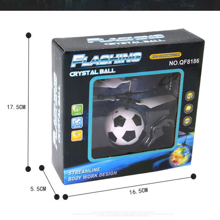 RC Flying Ball  Mini HelicopterLuminous Kid's Flight Balls Electronic Infrared Induction Aircraft Remote Control Toys LED Light