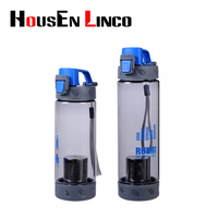 550ml 700ml Plastic Sports Water Bottle Space Cup Young Bike Outdoor Climbing Camp Powder Shaker Bottle