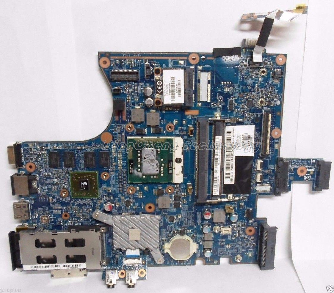 HOLYTIME laptop Motherboard For hp 4720s 633552 001 for intel cpu with non integrated graphics card