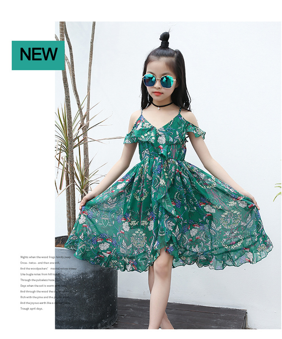 HTB1qK7gbx6I8KJjy0Fgq6xXzVXab - Girls Dress Bohemia Style Dresses Girls Sleeveless Floral Dress For Adolescents 8 10 12 Big Kids Girls Clothes