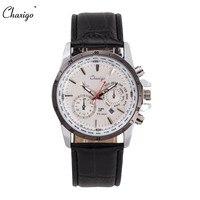 Chaxigo Men S Sport Wristwatches Quartz Calendar Display Leather Band Waterproof Cheap Male Watch Relogio Masculino