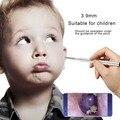 3 9 мм объектив Мини Android эндоскоп камера визуальная Ушная ложка для взрослых детей здоровая кожа увеличение пор осмотр эндоскоп