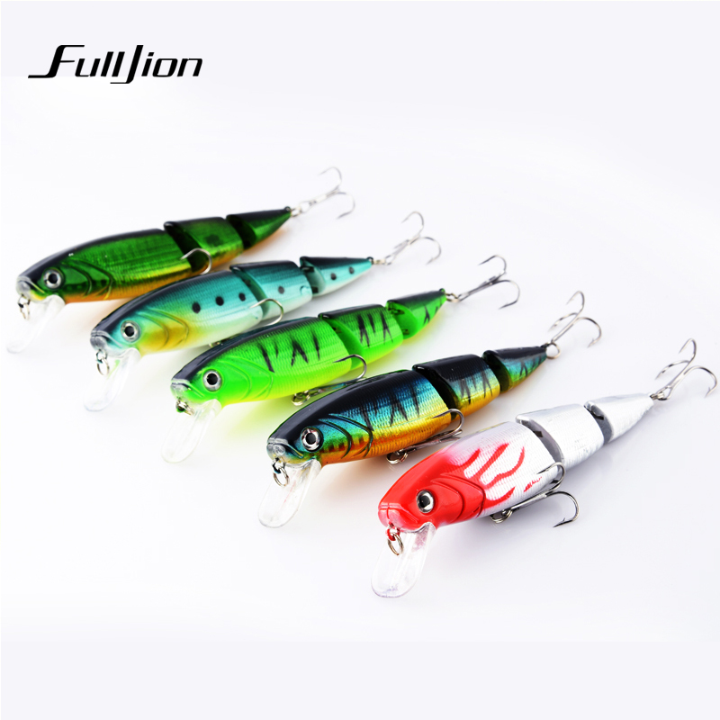 1 pcs Fishing lures Hard Baits Floating Minnow Artificial Wobblers Crankbait 3D Eyes 3 Sections Pesca Isca Lure 10.5cm 15g variety of blank hard fishing lures crankbait vib minnow wobblers unpainted lure bodies freshwater fish lure peche tackle