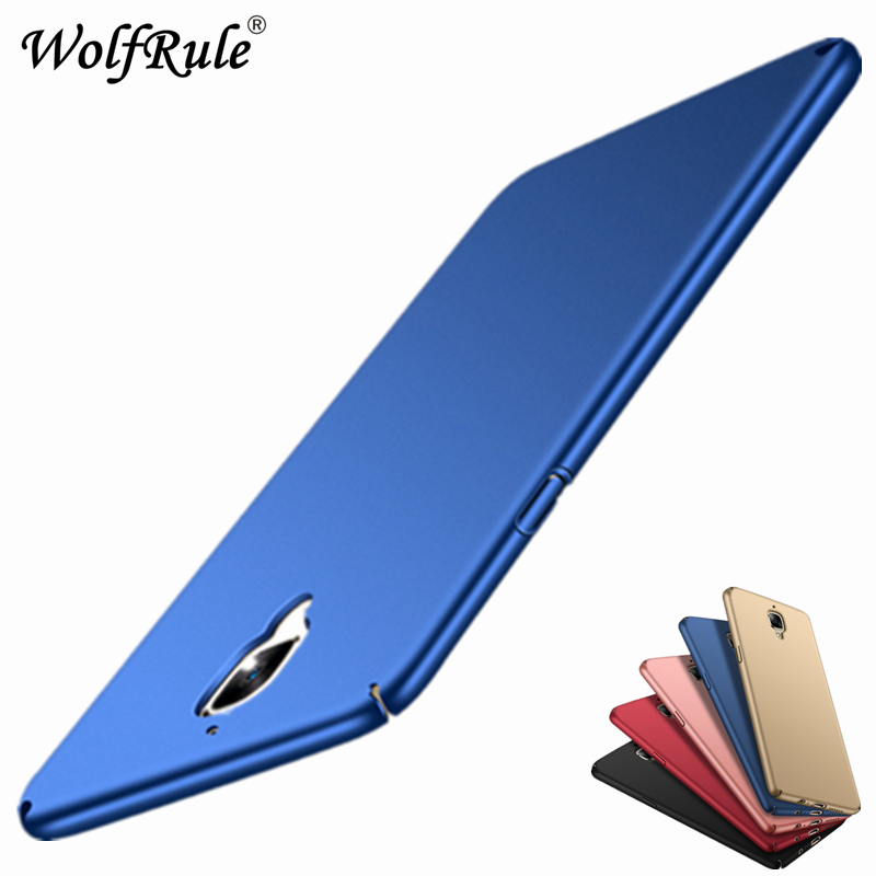 For Case Oneplus 3t Cover For Oneplus 3 Case Funda Ultra-thin Slim Smooth Back Protection Plastic PC Case For Oneplus 3T A3000
