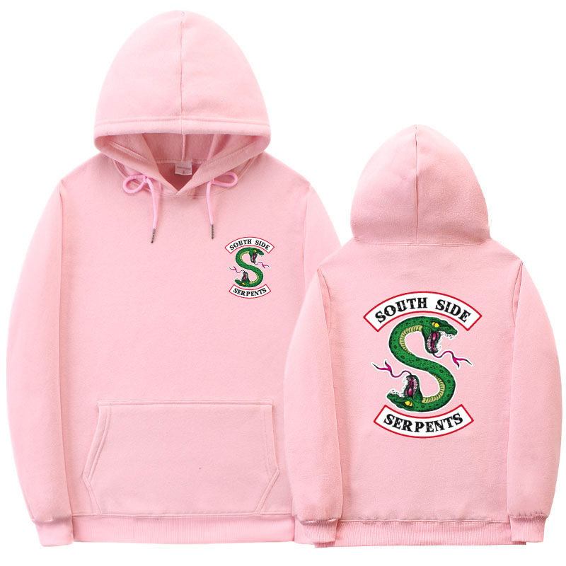 Fashion BTS Riverdale hoodie South Side Serpents Hoodie Sweatshirt Hip hop Streetwear Autumn Spring Hoodies Men
